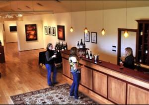 Trisaetum Winery - Tasting Room, Gallery