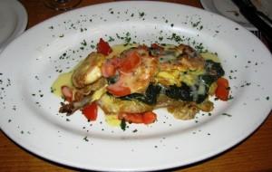 Fireside Bar & Grille - Veal & Shrimp Francais