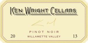 Ken Wright Cellars Pinot Noir 2013