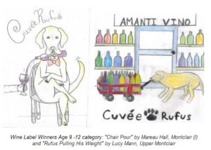 Amanti Vino - Rufus Wine Labels