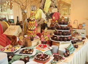Crystal Springs - Mother's Day Dessert Display