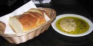 Il Granaio - Bread w Herbed Olive OIl & Hummus