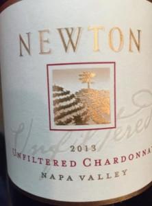 Newton Vineyard - Unfiltered Chardonnay 2013