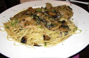 Basilico's - Veal Marsala