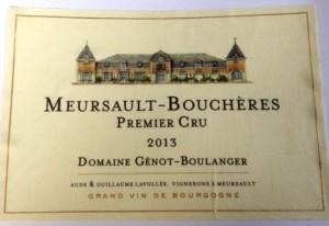 Meursault Boucheres 2013