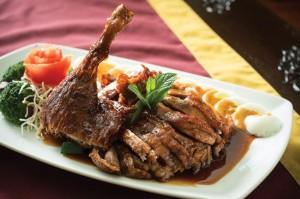 Downtown Bangkok Cafe - Crispy Duck with Tamarind Sauce