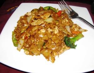 Downtown Bangkok Cafe - Drunken Spicy Man (Noodles) w Pork
