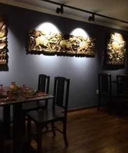 Downtown Bangkok Cafe - Interior