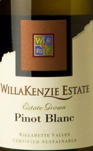 WillaKenzie Pinot Blanc 2014