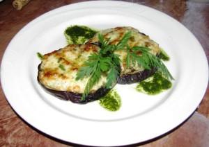 Rosalucas - Grilled Garden Eggplant