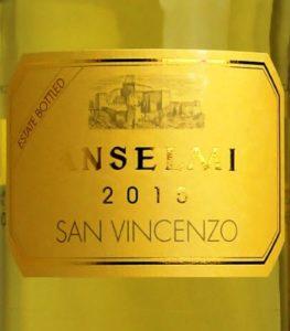 Anselmi - San Vincenzo 2015