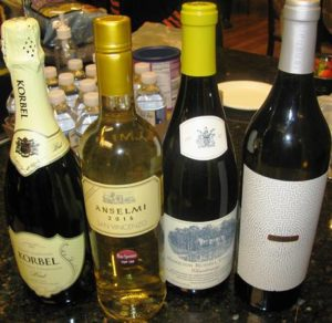 WINES OF THE MONTH - April 2017 1