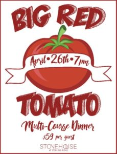 stonehouse - Big Red Tomato Dinner