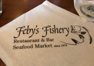 Feby's Fishery - Napkin