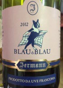 Jermann Winery - Blau & Blau 2012
