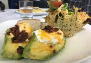 Washington House Basking Ridge - Baked Eggs & Avocado