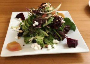 Byrsa Bistro - Beet & Almond Salad