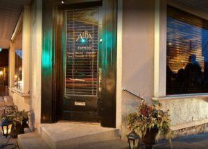 Alba - Entrance to Bar
