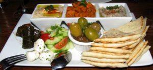 Byrsa Bistro - Mediterranean Sampler