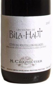 M. Chapoutier Bila-Haut