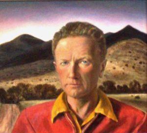 Hurd, Peter - Self Portrait