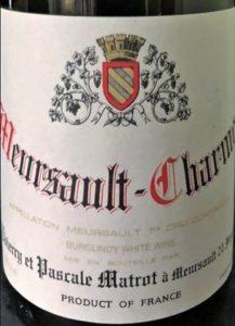 Meursault-Charmes 2011