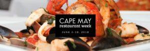 Cape May Restaurant Week 2018