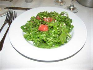 Chow Bistro - Arugula - Watermelon Salad