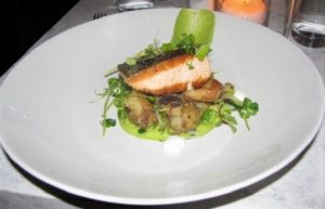 Main & Vine - Pan Roasted Salmon