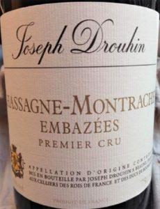 Drouhin, Maison Joseph - Chassagne-Montrachet Embazees