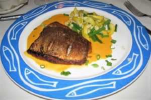 Kimberton Inn - Seared Red Snapper