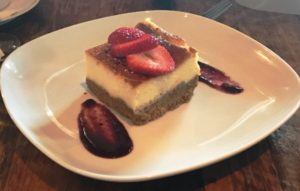 Agave - Cheesecake w Creme Brulee Topping