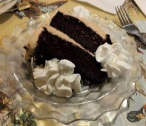 Beaver Creek Tavern - Dark Choc Cake w Peanut Butter Icing