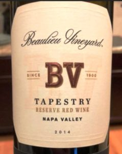 BV Tapestry Reserve 2014