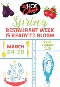 SJ Hot Chefs - Spring Restaurant Week
