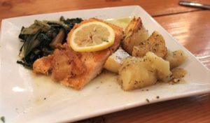 Local Greek - Salmon