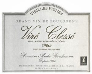 Domaine Andre Bonhomme - Vire-Clesse 2017