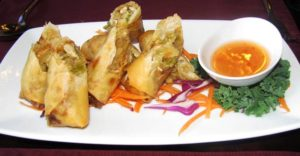 Downtown Bangkok Cafe - Crispy Spring Roll