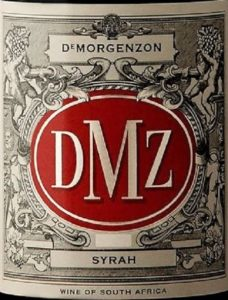 DeMorgenzon Winery- DMZ Syrah 2016