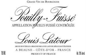 Louis Latour -Pouilly Fuisse