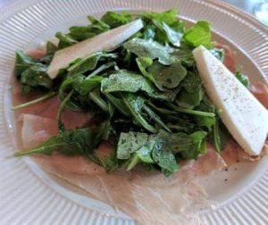 San Nicola - prosciutto w arugula salad
