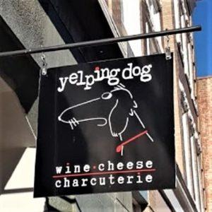Yelping Dog - Exterior Sign