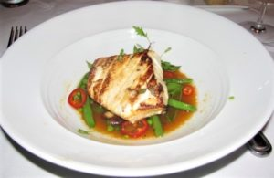 Eddie V's - Halibut