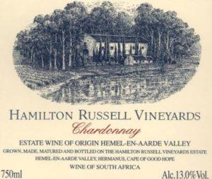 Hamilton Russell Chardonnay 2015