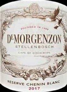 DeMorgenzon Reserve Chenin Blanc 2017
