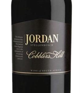 Jordan Winery Stellenbosch - Cobblers Hill 2015