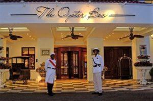 Oyster Box, Durban - Entrance