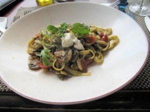 Roca Restaurant - Mushroom Fettuccine