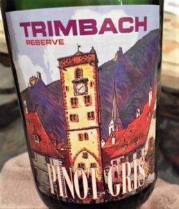 Trimbach Pinot Gris Reserve 2015