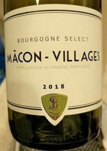 Bourgogne Select Macon-Villages 2018